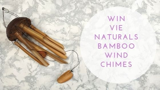 Vie Naturals Bamboo Wind chimes