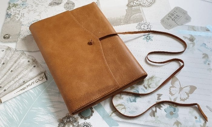 Amalfi Leather Refillable Journal