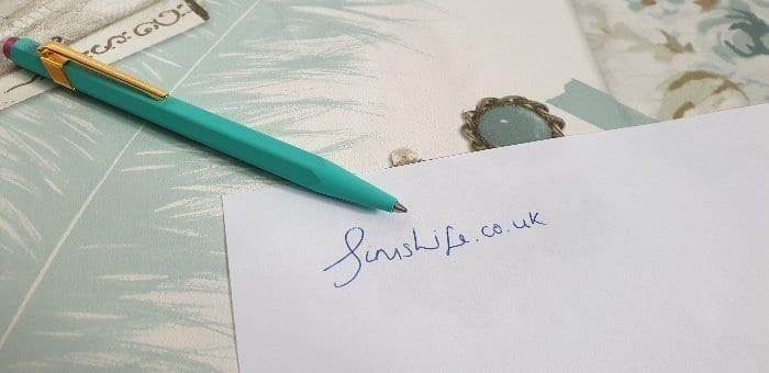 Caran d'Ache BallPoint Pen in Turquoise