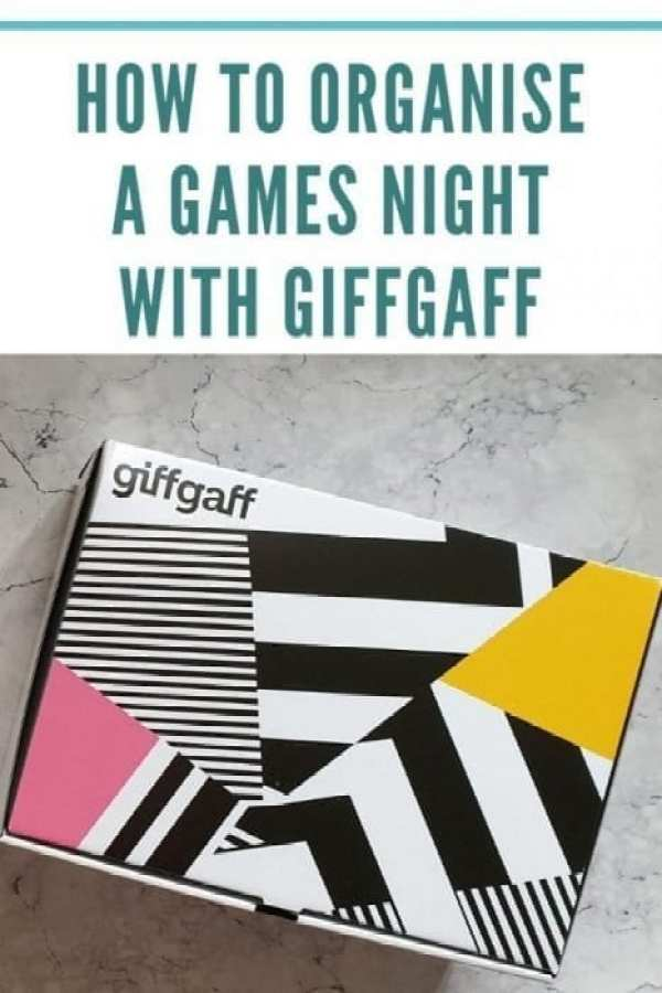 Organising a games night with giffgaff