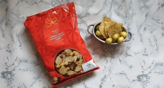 M&S Turkey Feast crisps