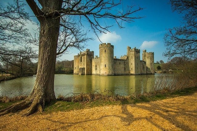 Getting to Bodiam Castle