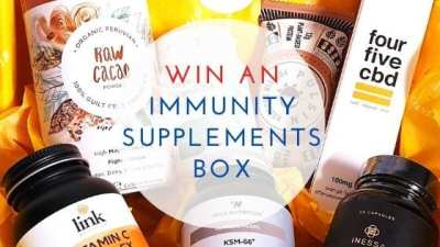 Win An Immunity Supplements Box