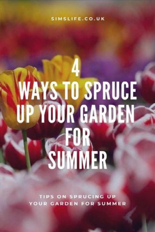 4 Ways To Spruce Up Your Garden