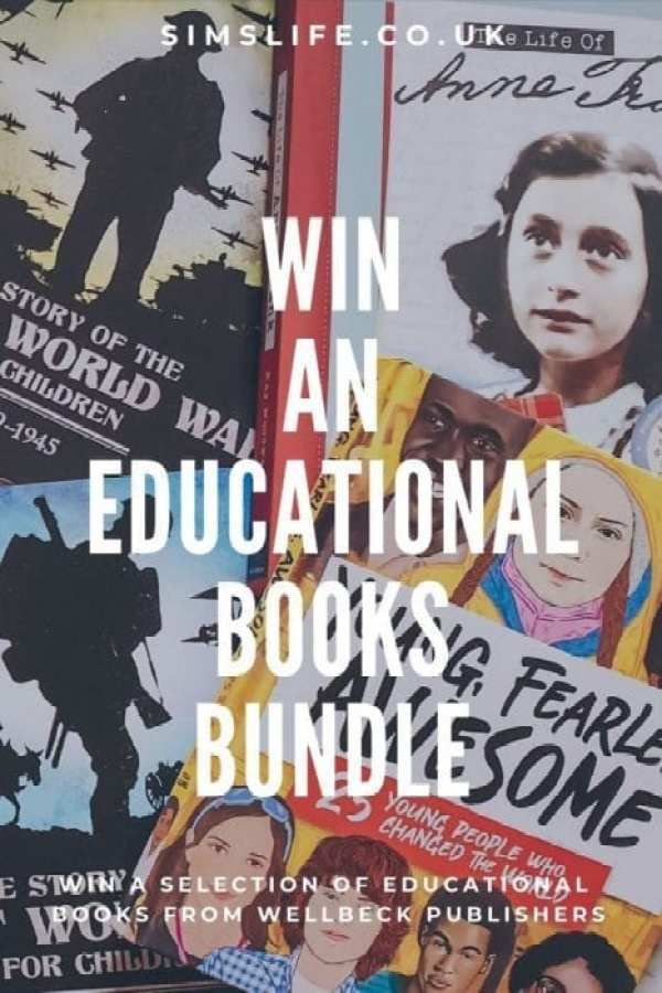Win a books bundle Pin