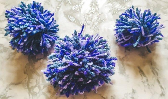 Wool Pom Poms