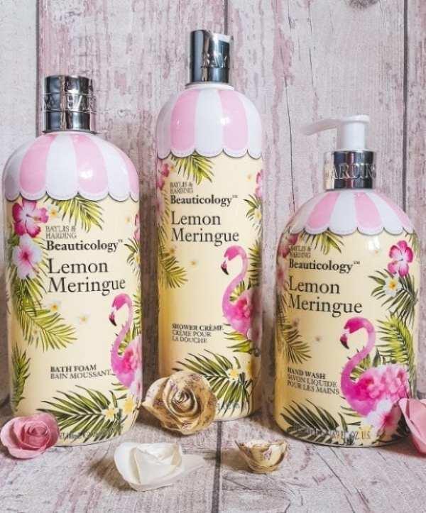 Baylis & Harding Lemon Meringue range