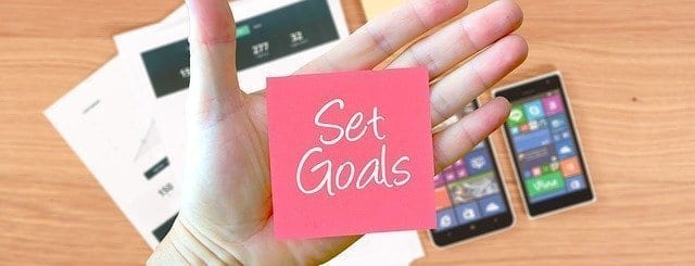 Setting goals for life after Covid