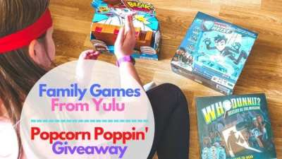 Popcorn Poppin' Giveaway and Yulu Games review