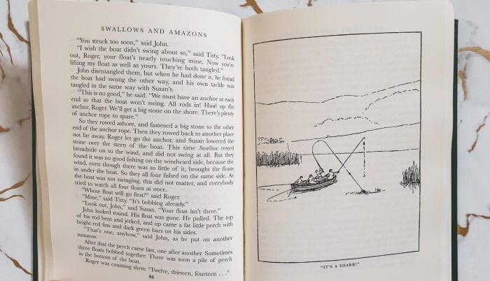 Swallows and Amazons story