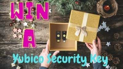 Win a Yubico Security Key