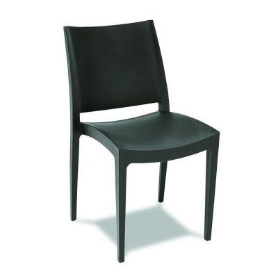 silla polipropileno exterior m163
