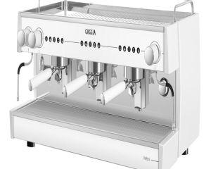 Cafeteras industriales Gaggia Vetro ELE XL grupo alto 3 brazos