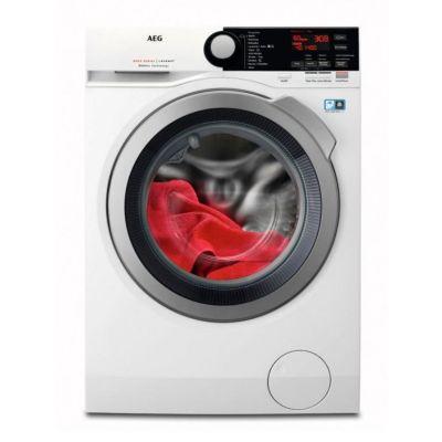 Lavadora AEG L8FBE842 carga frontal de 8kg y 1400rpm. Compra en nuestra tienda online lavadoras baratas.