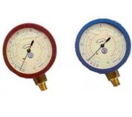 Manómetros BL60 y ML60 Ø60 clase 1 con glicerina y conexión radial