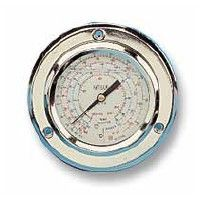 Manómetros Inox Ø60 MM Wigam Glicerina Balona Conexión Posterior