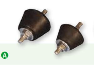 Amortiguadores antivibratorios AG-35 y AG-45
