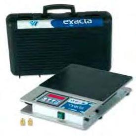 Báscula electrónica programable EXACTA MAXI para cargas y descargas automáticas
