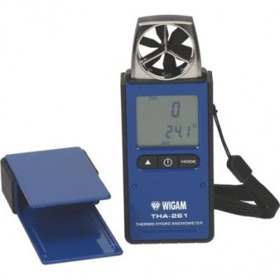 Termo higro anemómetro digital Wigam THA-261