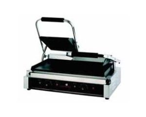 Sandwichera industrial doble grill eléctrico Beckers GE-2-B-DOBLE