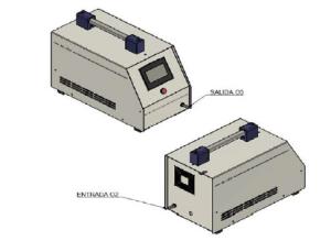 Generador de ozono MEDI-O3-A01 A02 foto 2