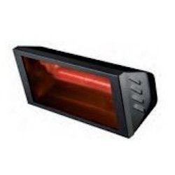 Calefacción Radiante Eléctrica VARMA BLACK 2000 W