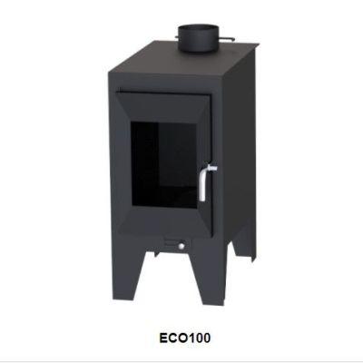 Estufa de leña Boreal ECO100