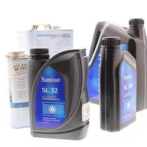 Gases refrigerantes y aceites