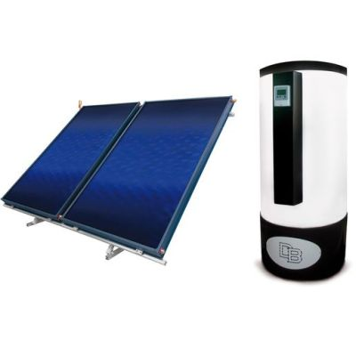 Set Solartermic (Acumulador+Panel) Daitsu HIGH SELECTIVE