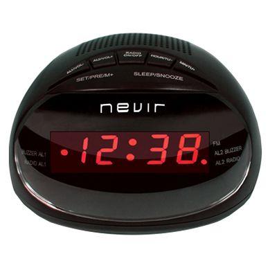 Radio despertador Nevir NVR 333DD