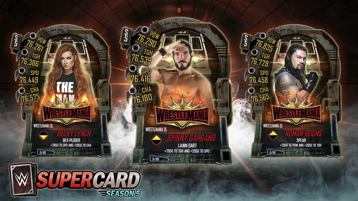 2K Announces Wrestlemania 35 Tier for WWE SuperCard The action-packed collectible card-battling game is available starting today