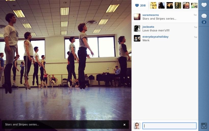 instagram-sara-mearns-rehearsal