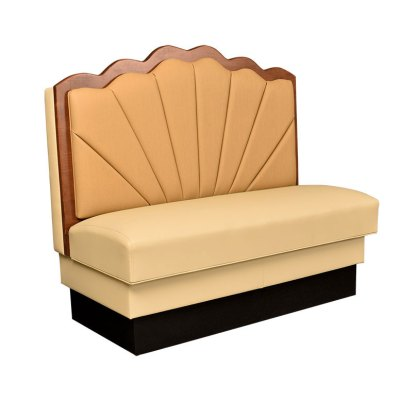 Scalloped Booth Seating