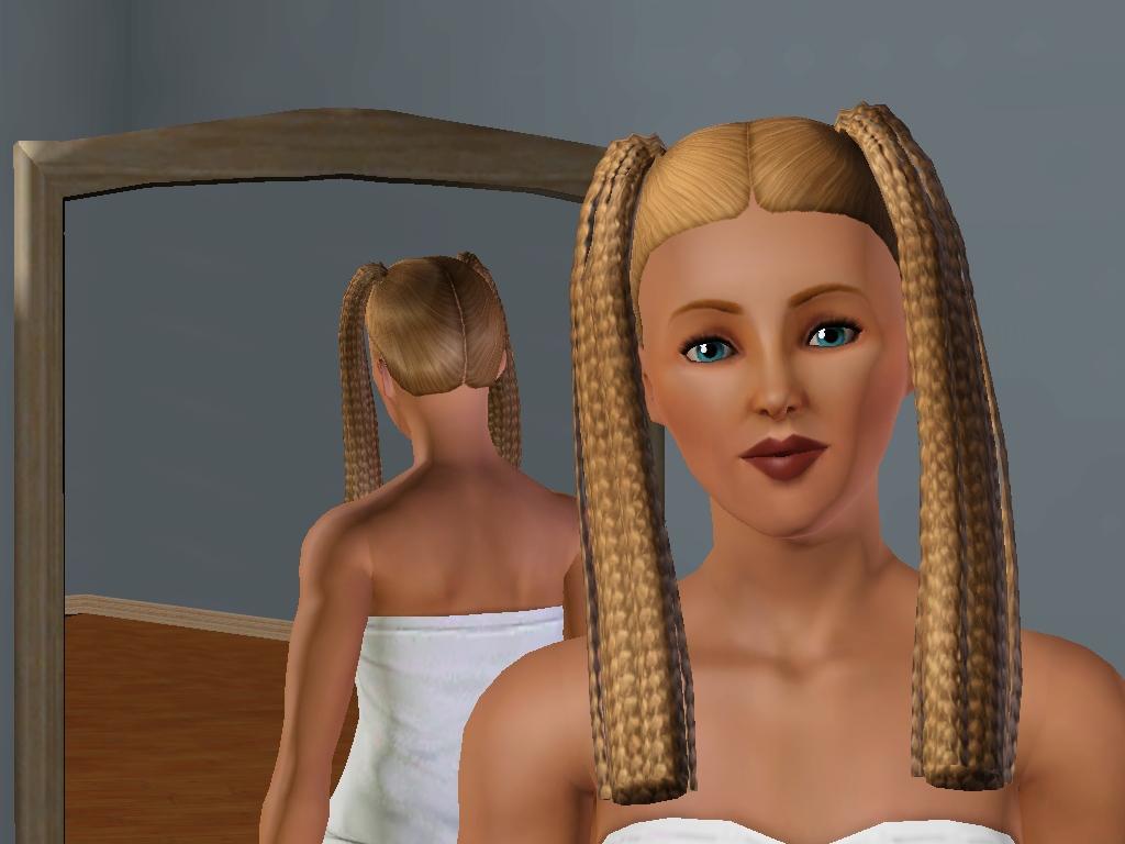 Sims 3 Harmony Headband Hairstyle