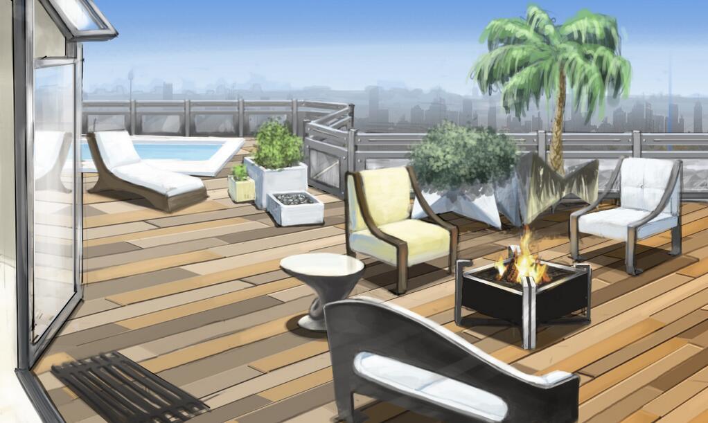 The Sims 3 High End Loft Concept Art Simsvip