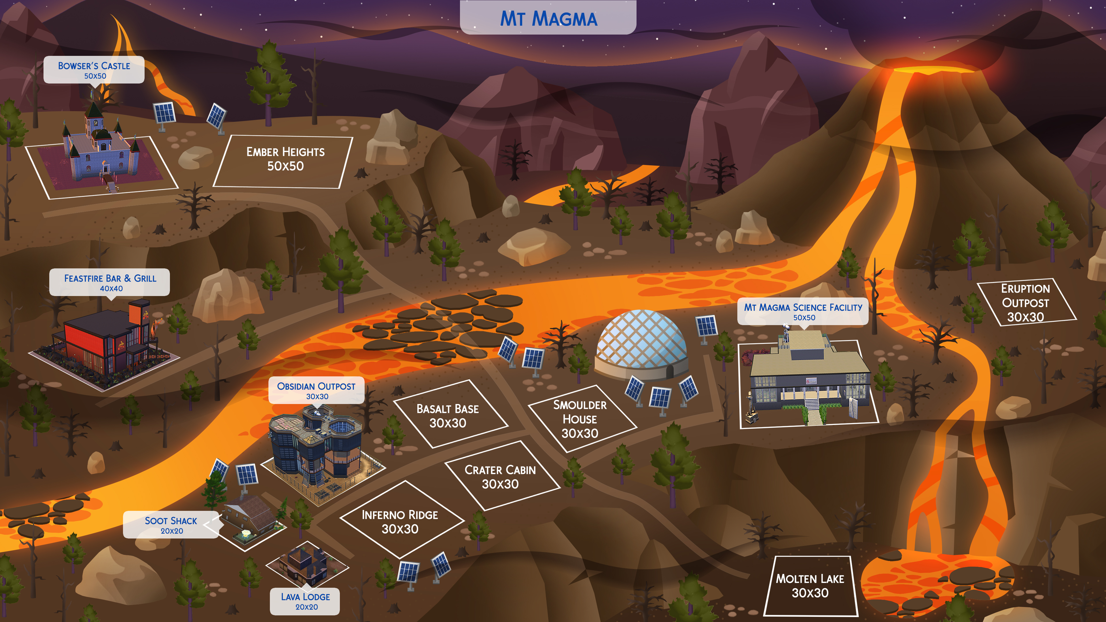Fan made maps for the sims 4 sims globe has shared some of their amazing work in the form of sims 4 world maps can you imagine having these world maps become a reality in the game gumiabroncs Choice Image