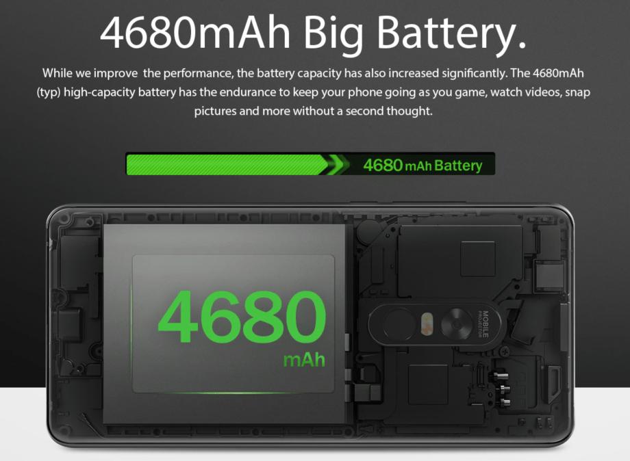 大容量バッテリー