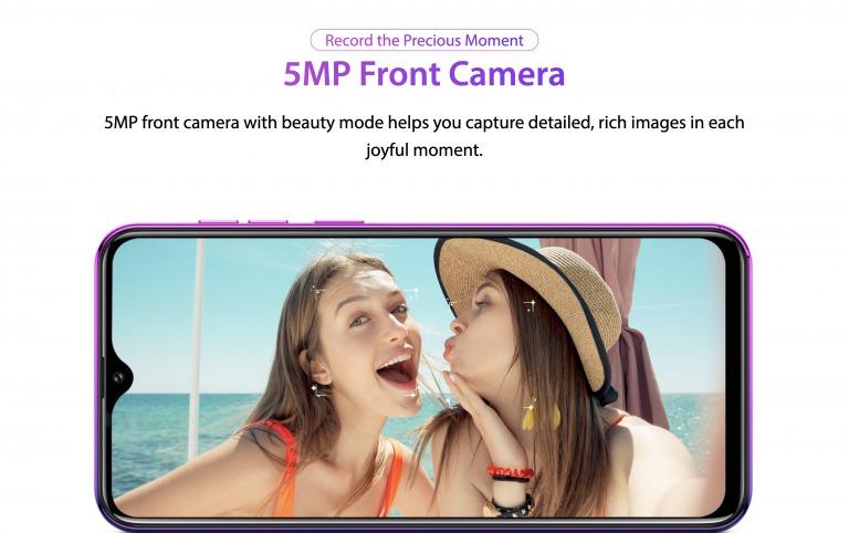 Ulefone Note 7のインカメラ