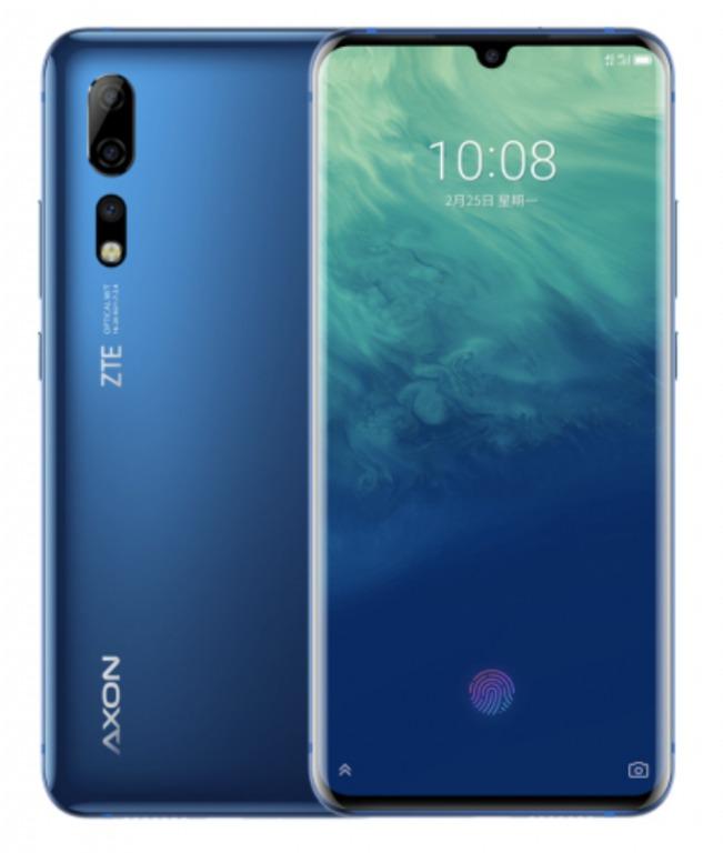 ZTE Axon 10 Proの筐体