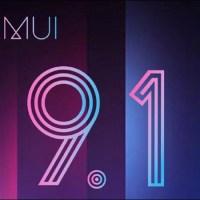 EMUI 9.1のアップデートスケジュールが公開