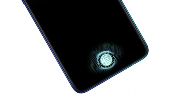 OPPO Reno A 128GBのディスプレイ指紋認証