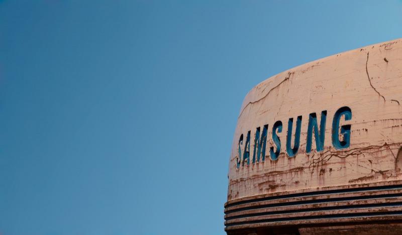 Samsungのロゴ