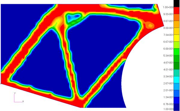 2d bicylce frame optimization