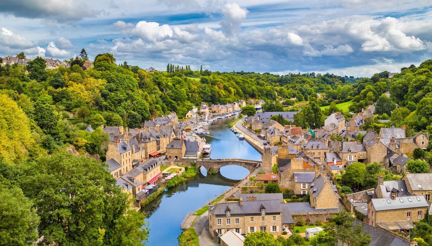 brittany france village