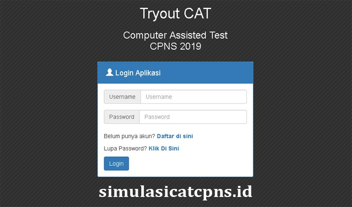 Tryout-Online-CPNS-2019-simulasicat