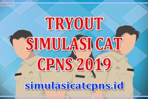 Tryout CPNS Online - Simulasi CAT CPNS