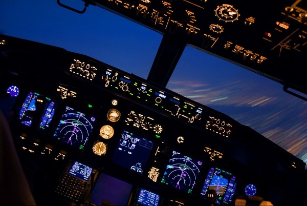 Simulatore volo Boeing 737-800