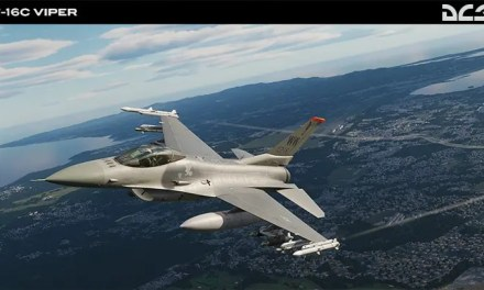 DCS: F-16C Viper HMCS Radar Warning video