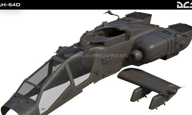 DCS: AH-64D zprávy z vývoj
