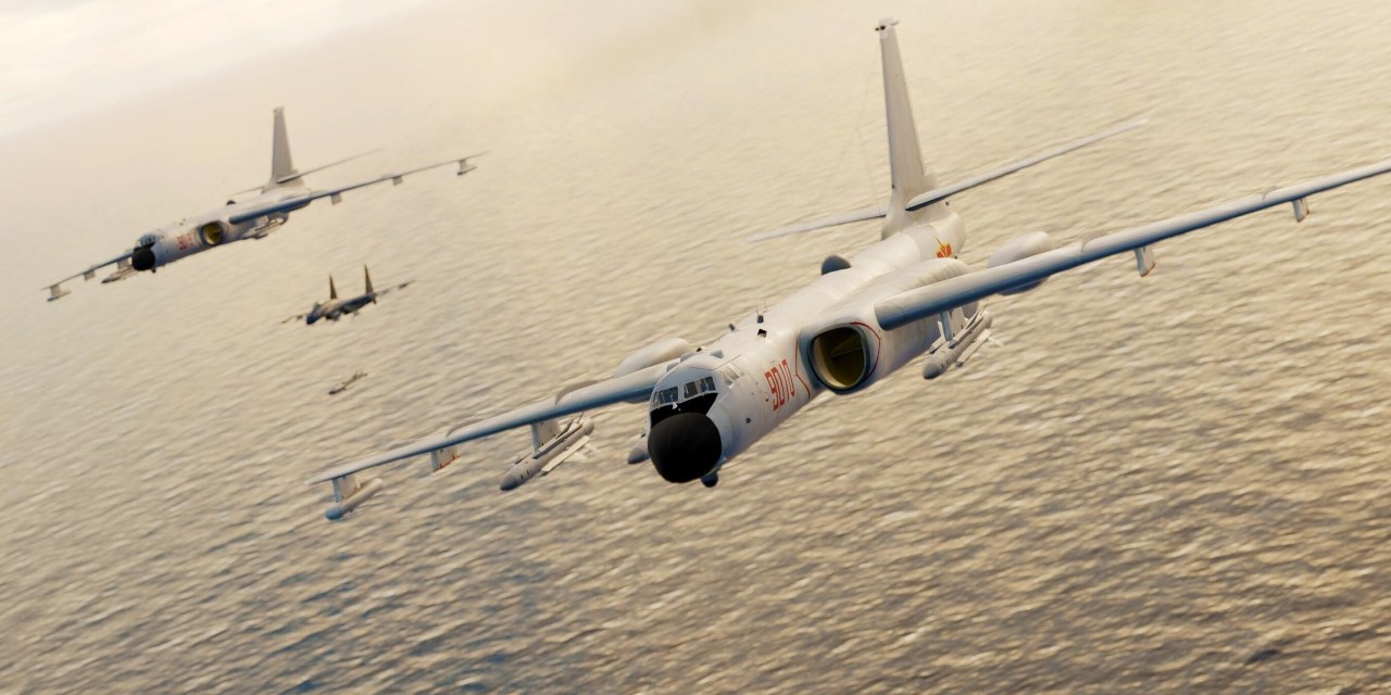 DCS: AH-64D a nový AI letoun Xian H-6J